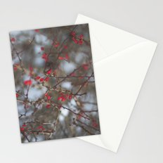 pop of red Stationery Cards