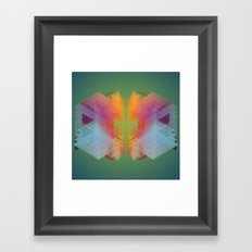 A Hundred Eyes Will Judge, A Thousand Will Forgive Framed Art Print
