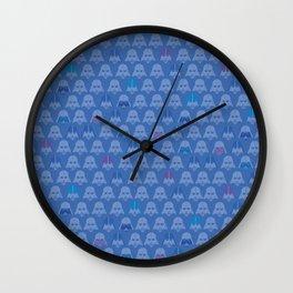 Darth Blue Vader Wall Clock
