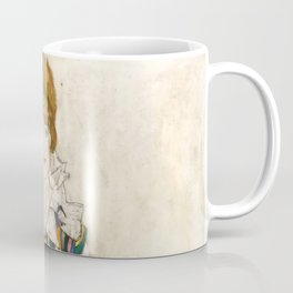 "Egon Schiele ""Portrait of Edith Schiele, the artist's wife"" (1915) Coffee Mug"
