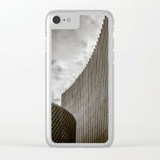 Texturized Brutalism Clear iPhone Case