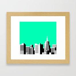 Cityscape #44 Version 2 Framed Art Print