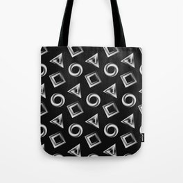 Metallic Shapes Tote Bag