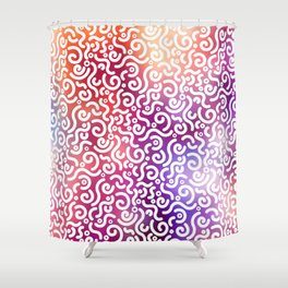 Abstract Pattern IX Shower Curtain