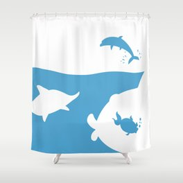 Save the world Shower Curtain
