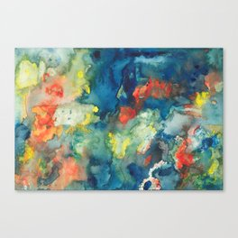 Mindscapes: Did you get hit by a bus or just have a baby? Canvas Print