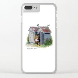 Mr. Potato Head Clear iPhone Case