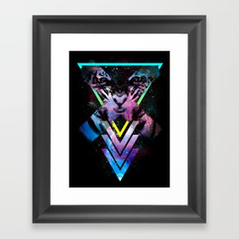 CODE X Framed Art Print