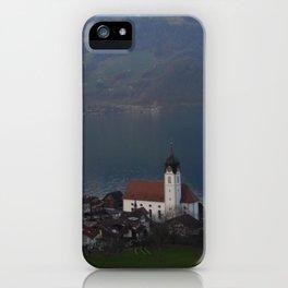 Church in Switzerland iPhone Case