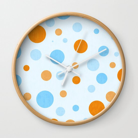 Something Fishy Bubbles Wall Clock