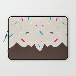 Hot chocolate with whipped cream and sprinkles Laptop Sleeve