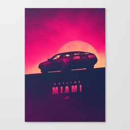 HOTLINE MIAMI 4 Canvas Print