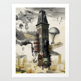 Lighter than MKE Art Print
