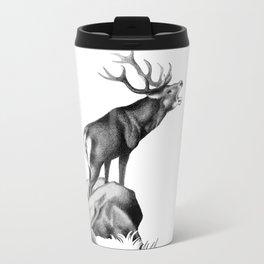 Stag Roaring in the Rut Travel Mug