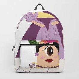 Frida Kahlo Character Backpack