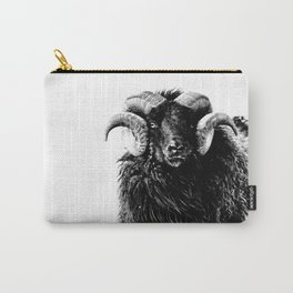 Black Ram Carry-All Pouch