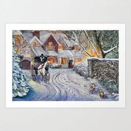 Winter # 3 Art Print