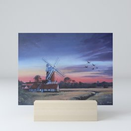 Cley Windmill Mini Art Print