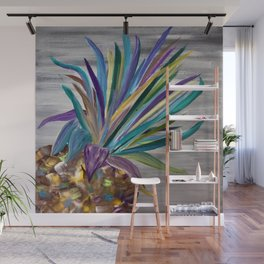 Pineapple Palette Wall Mural
