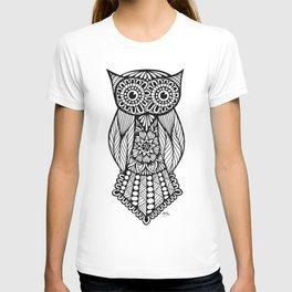 Zentangle - Owl T-shirt