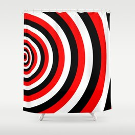 A tension Shower Curtain
