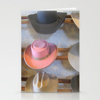 hats Stationery Cards featuring Hats by Judith Kimber Photography