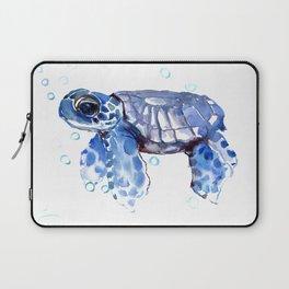 Baby Blue Turtle Laptop Sleeve