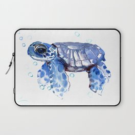 Baby Blue Turtle Laptop Sleeve