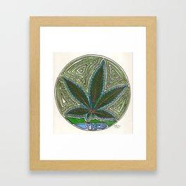 THC Framed Art Print
