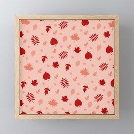 Leaves IX Framed Mini Art Print