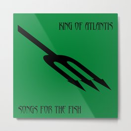 Songs For The Fish Metal Print
