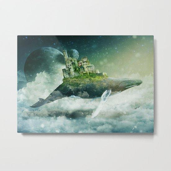 Flying kingdoms Metal Print