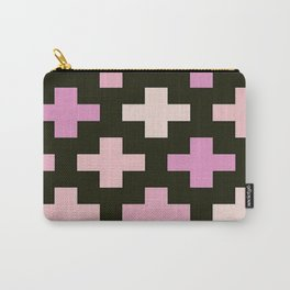 Crosses Pink Pastel Goth Carry-All Pouch