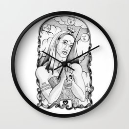 Moonglow Wall Clock