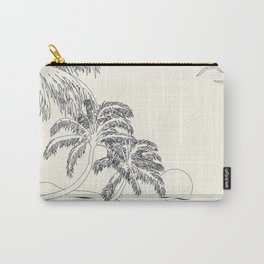 Beach Linescape Carry-All Pouch