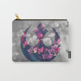 Floral Rebel Alliance Carry-All Pouch