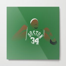 NBA Players | Paul Pierce Metal Print