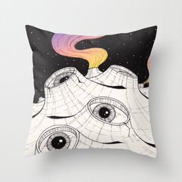 planets have ears Throw Pillow