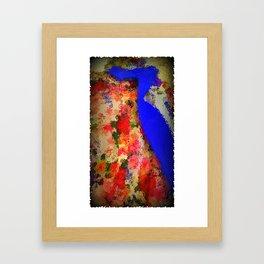 Summer Of Love: The Flower Power Shirt & Tie Framed Art Print
