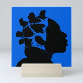 blue Mini Art Print