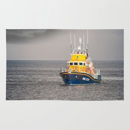 RNLI Lifeboat Rug