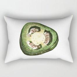 Jalapeño Slice Rectangular Pillow