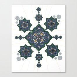 Lively Earth Mandala - v.3 Canvas Print