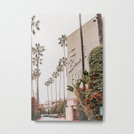 The Beverly Hills Hotel / Los Angeles, California Metal Print