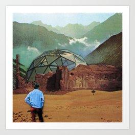The Dome Art Print