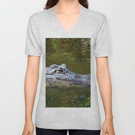 Wild Gator Unisex V-Neck