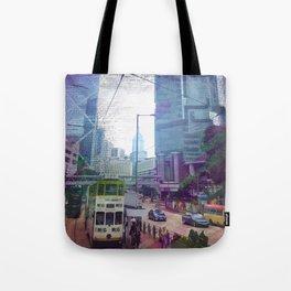 Streets of Hong Kong Tote Bag