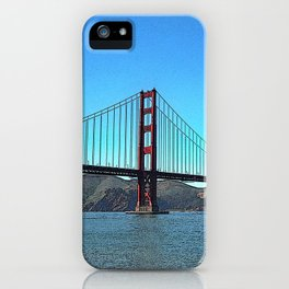 San Francisco Golden Gate iPhone Case