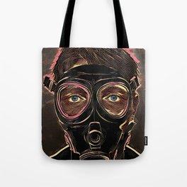 INFERNO MASK DOWNFALL Tote Bag