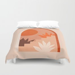 Abstraction_SUN_Bohemian_ARCHITECTURE_001AA Duvet Cover